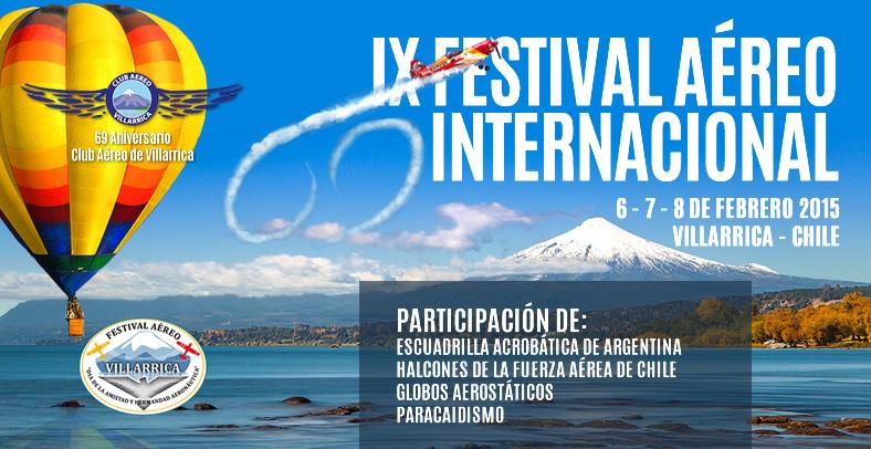 FESTIVAL AÉREO DE VILLARRICA 2015