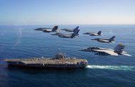 F-16 FACH y F-18 US NAVY en Blue Sky V