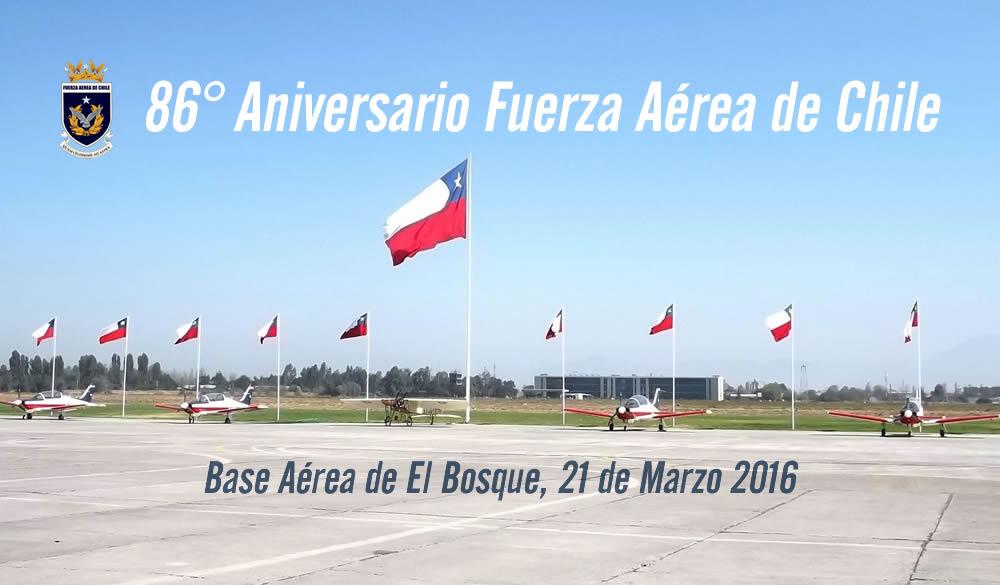 86° Aniversario Fuerza Aérea de Chile