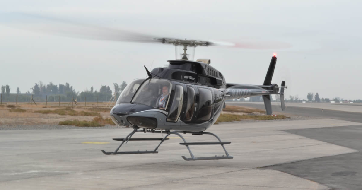 Bell Helicopter Entrega 15to. Bell 407GXP a la Fuerza Aérea Mexicana