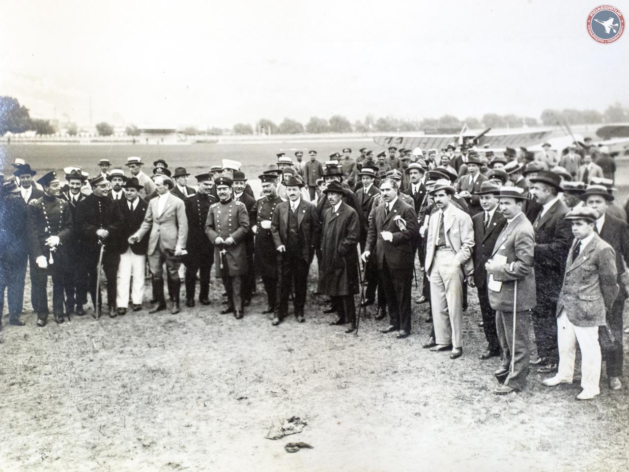 Photo of Primera Conferencia de Aeronáutica Panamericana (Santiago, 1916)