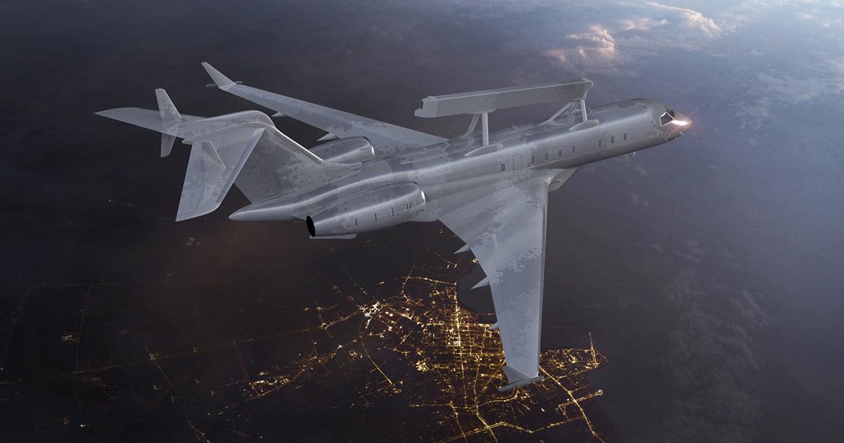 GlobalEye de Saab redefine la vigilancia aérea