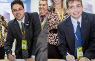 Altave y Truckvan firman acuerdo de trabajo conjunto en FIDAE 2016