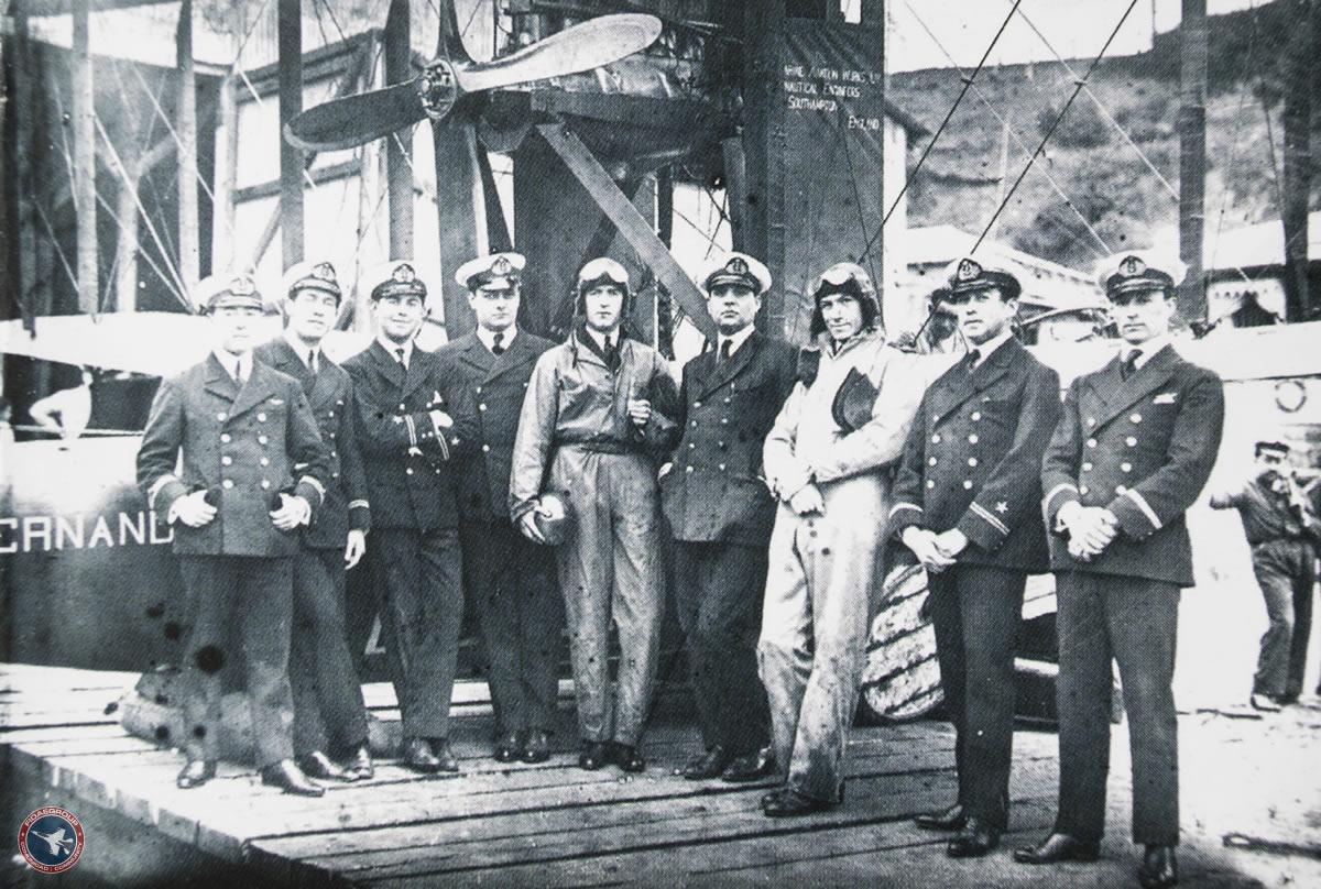 100 años de la Aviación Aeronaval en Chile