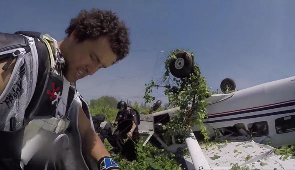 Dramático accidente del Cessna 208 donde iba Sebastián Alvarez