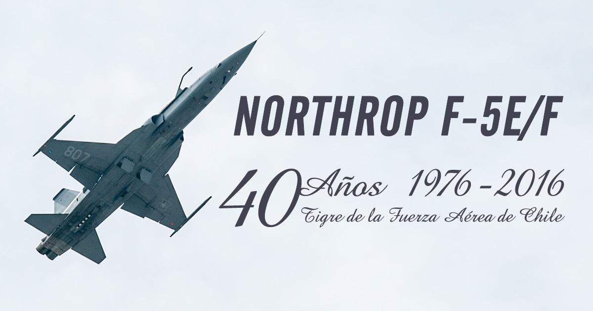 40 Años de la llegada de los Tigres a la Fach. (F-5E/F)