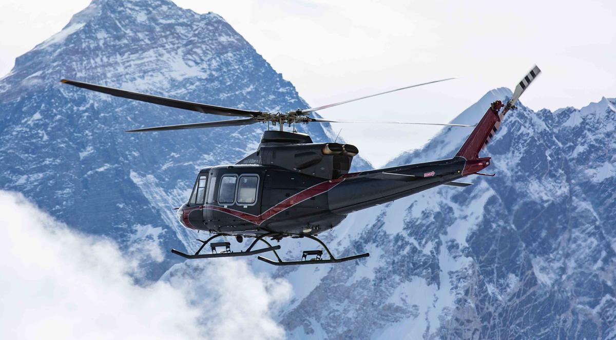 Bell 412EPI Llega Más Alto