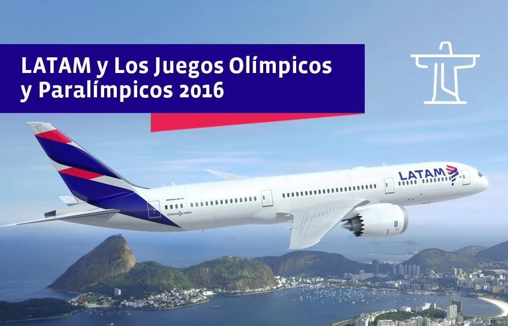LATAM Airlines Brasil anuncia plan especial para los Juegos Olímpicos Rio 2016