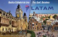 LATAM Airlines inaugura primer vuelo entre Lima y Barcelona