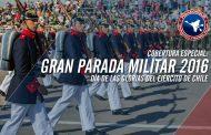 Completa cobertura día de las glorias del Ejército de Chile 2016