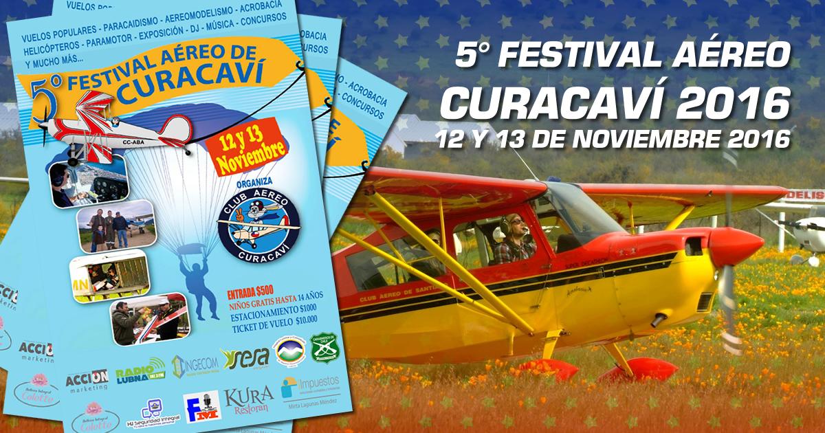 5to Festival Aéreo Curacaví 2016