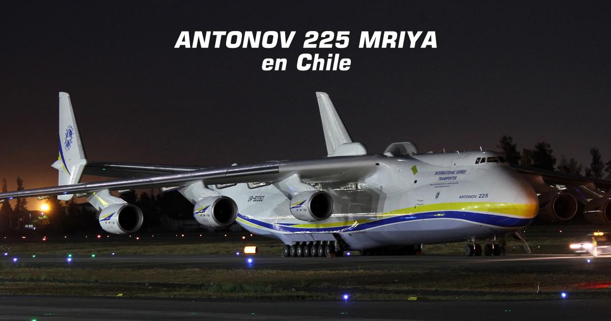 Primera visita del Antonov 225 Mriya causa revuelo en Chile