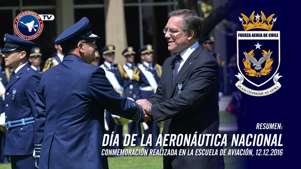 Fuerza Aérea de Chile conmemoró día de la aeronáutica nacional (2016)