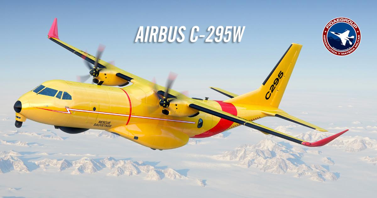 Canadá elije el avión Airbus C295W para sus misiones de búsqueda y rescate