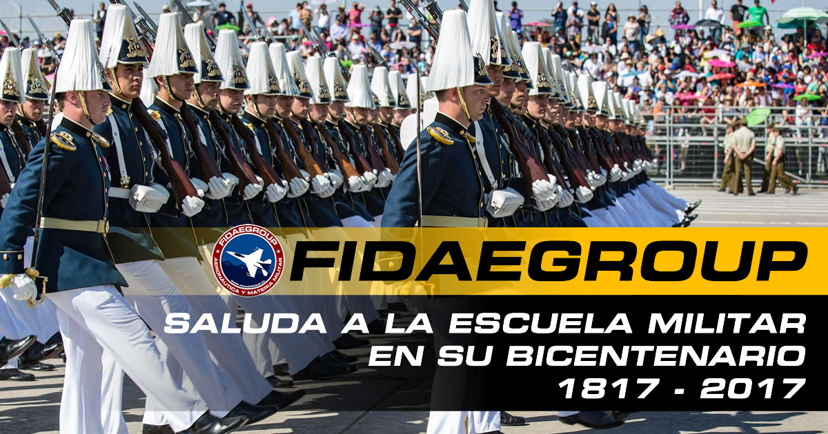 Fidaegroup saluda a la Escuela Militar Del Libertador General Bernardo O'Higgins Riquelme en su Bicentenario.