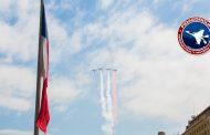 Izamiento Gran Bandera da el vamos al Mes del Aire 2017 en la Fuerza Aérea de Chile
