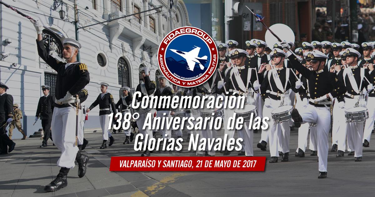 Conmemoración 138° Aniversario de las Glorias Navales