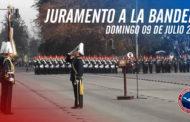 Juramento a la Bandera y su Bicentenario en Santiago de Chile 2017