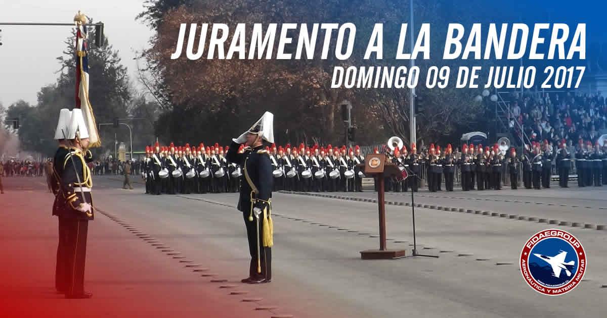 Photo of Juramento a la Bandera y su Bicentenario en Santiago de Chile 2017