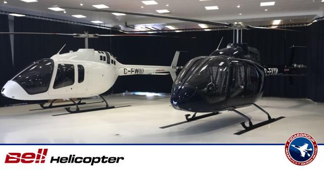 Bell realiza primera entrega de helicópteros Bell 505 JetRangerX en Chile
