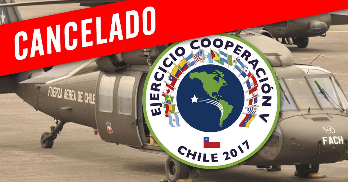 Photo of Ejercicio Cooperación V es cancelada por terremoto de México