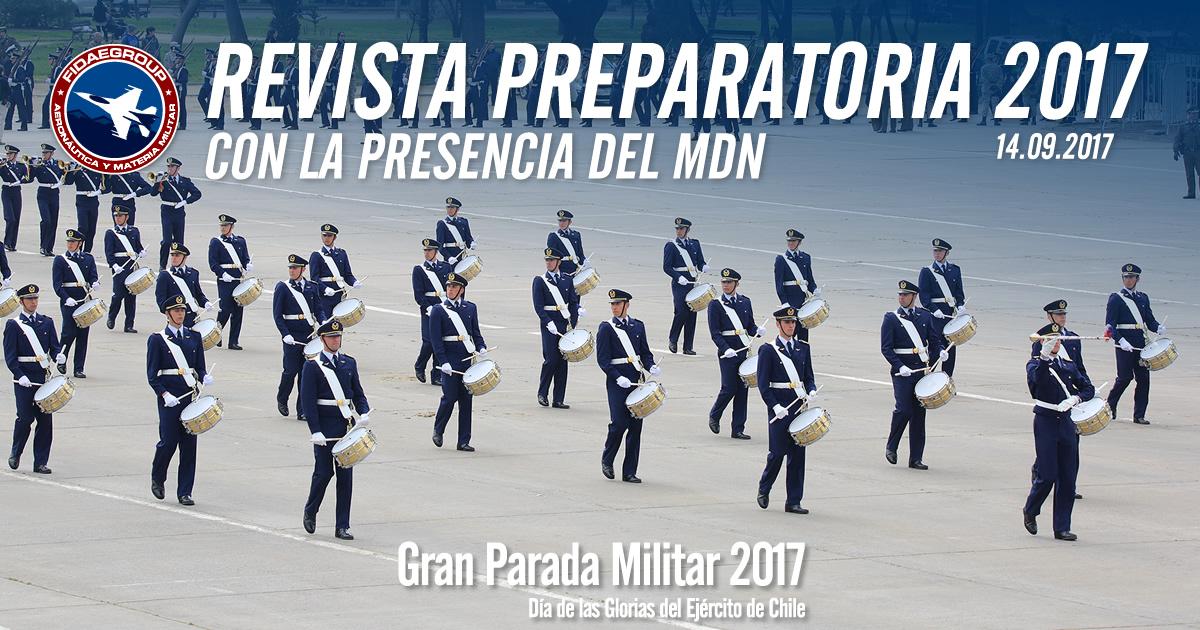 Revista Preparatoria 2017 con la presencia del MDN