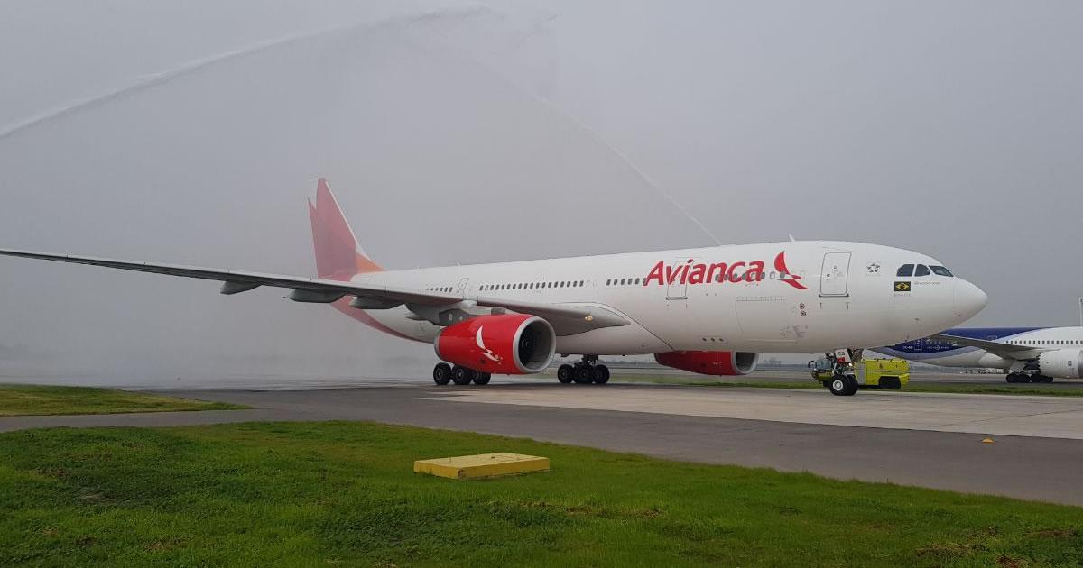 Avianca Brasil inicia hoy vuelos diarios y directos entre Sao Paulo y Santiago de Chile