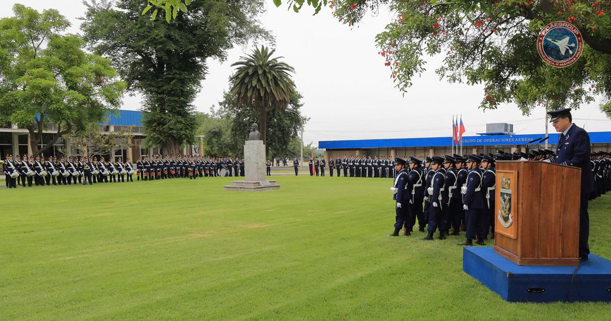 Ceremonia Día de la Aeronáutica Nacional en la Escuela de Aviación
