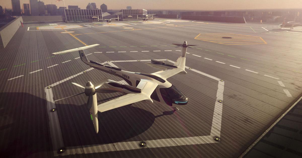 Uber y el desarrollo de sus autos voladores eVTOL