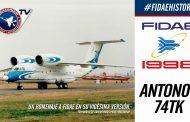 Demostración aérea de Antonov An-74tk en FIDAE 1998, Los Cerrillos
