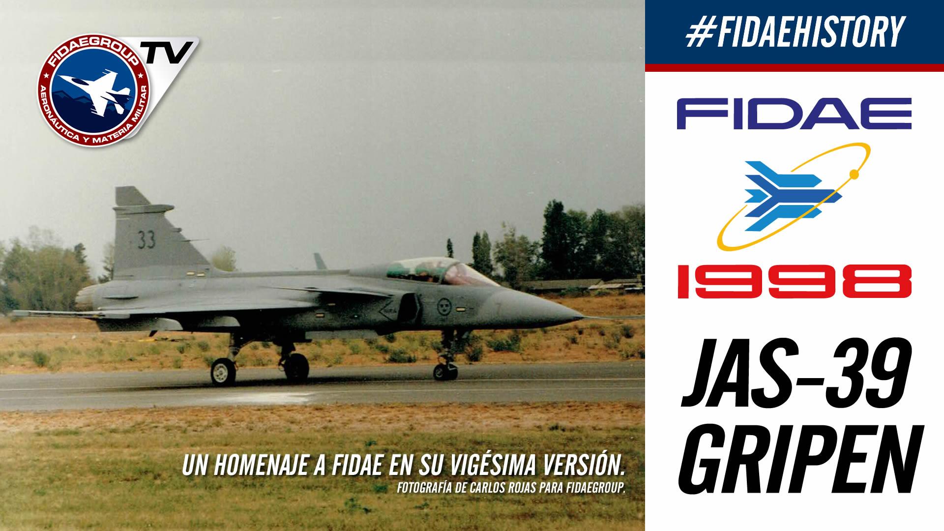 Demostración Saab Jas-39 Gripen en FIDAE 1998, Proyecto F2000 FACH