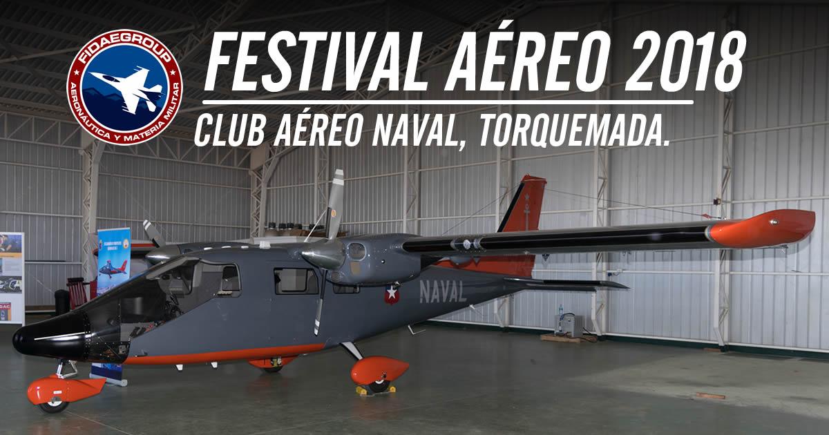 Photo of Festival Aéreo del Club Aéreo Naval 2018
