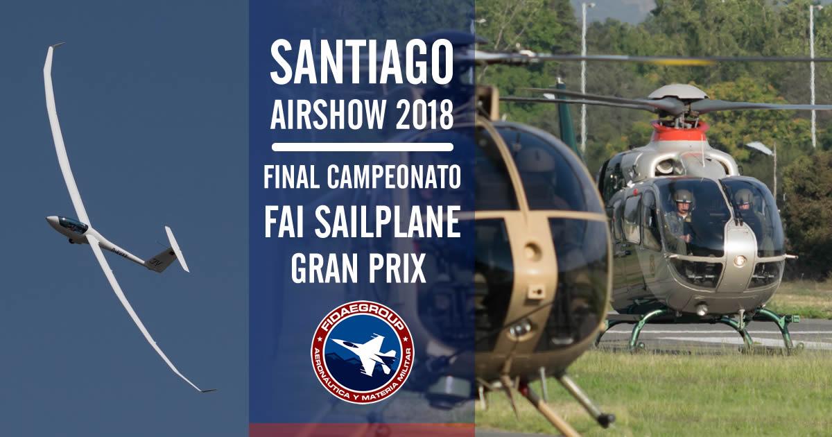 Photo of Santiago Airshow 2018 y final FAI Sailplane Gran Prix
