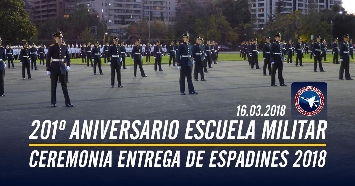 201° Aniversario Escuela Militar y Entrega de espadines 2018