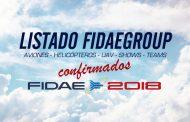 Confirmados FIDAE 2018 Aviones, Helicópteros, UAV, Shows