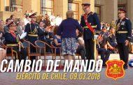 Cambio de mando en Ejército de Chile 2018