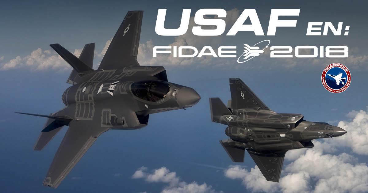 La marcada presencia de USAF en FIDAE 2018