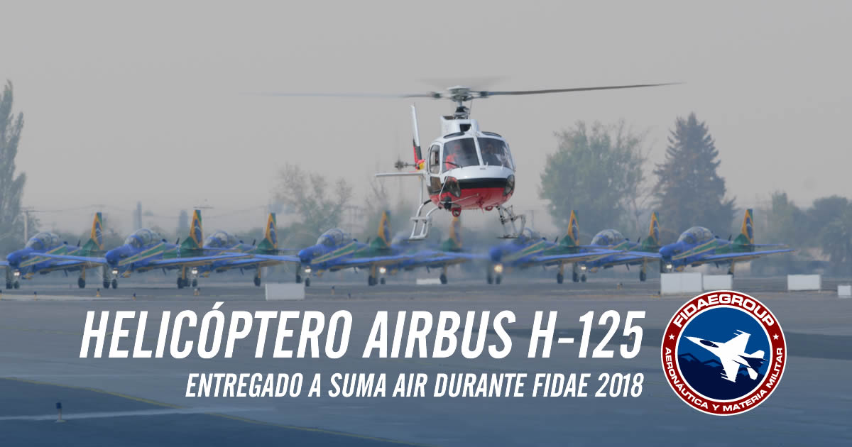 Airbus entrega helicóptero H125 a Suma Air