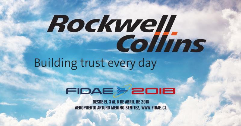 Rockwell Collins en FIDAE 2018