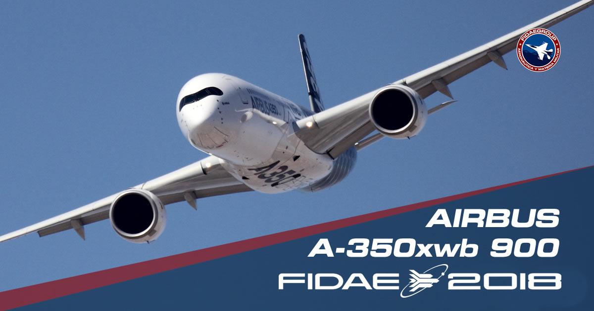 Airbus A-350xwb: Hermosura en los cielos FIDAE 2018