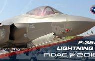 F-35A Lightning II en la muestra de FIDAE 2018