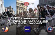 139° Conmemoración de las Glorias Navales, Valparaíso y Viña del Mar