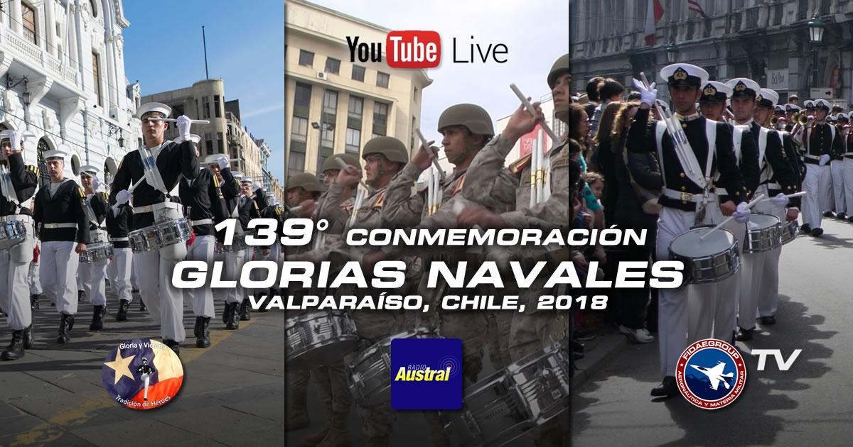 Photo of 139° Conmemoración de las Glorias Navales, Valparaíso y Viña del Mar