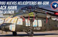 Llegada de los nuevos MH-60M Black Hawk a bordo de un Antonov 124 a la Fach