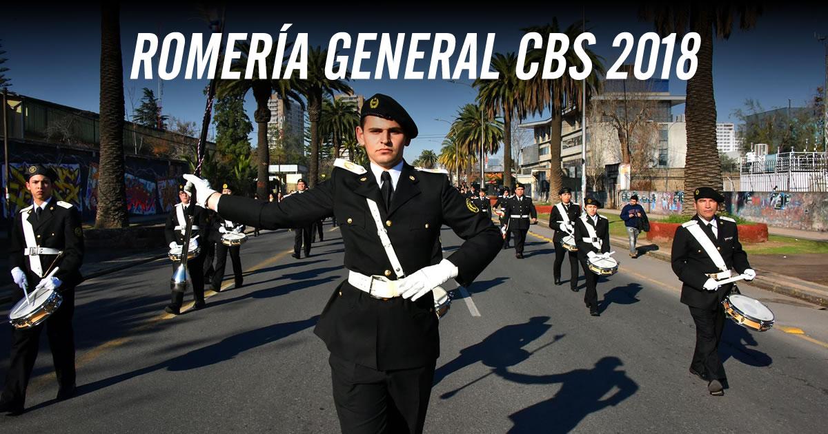 Romería General del Cuerpo de Bomberos de Santiago CBS 2018