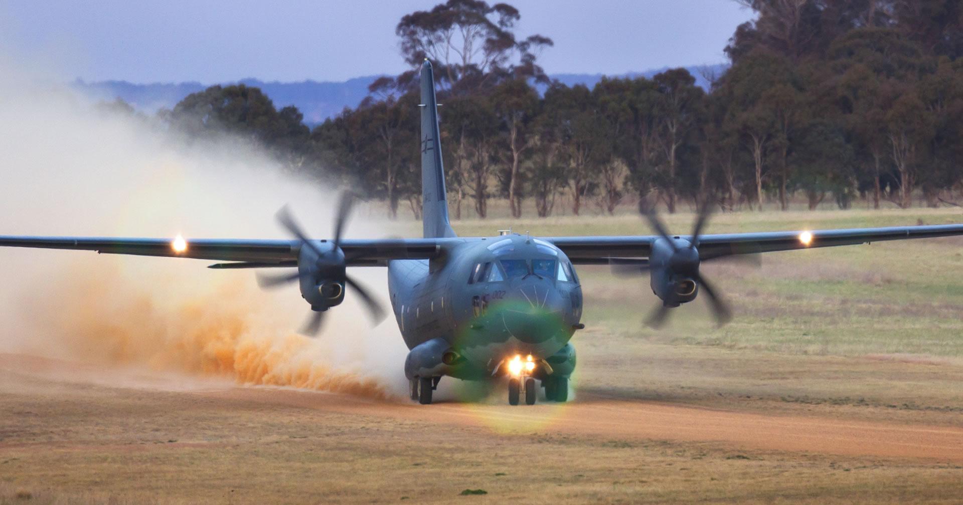 C-27J Spartan en misiones contra incendios que afecta a Grecia