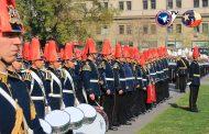 Izamiento Gran Bandera 2018 por Ejército de Chile
