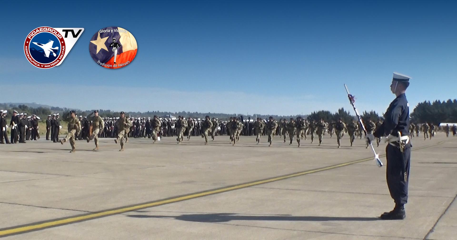 Armada de Chile realiza su preparatoria en Torquemada para GPM2018