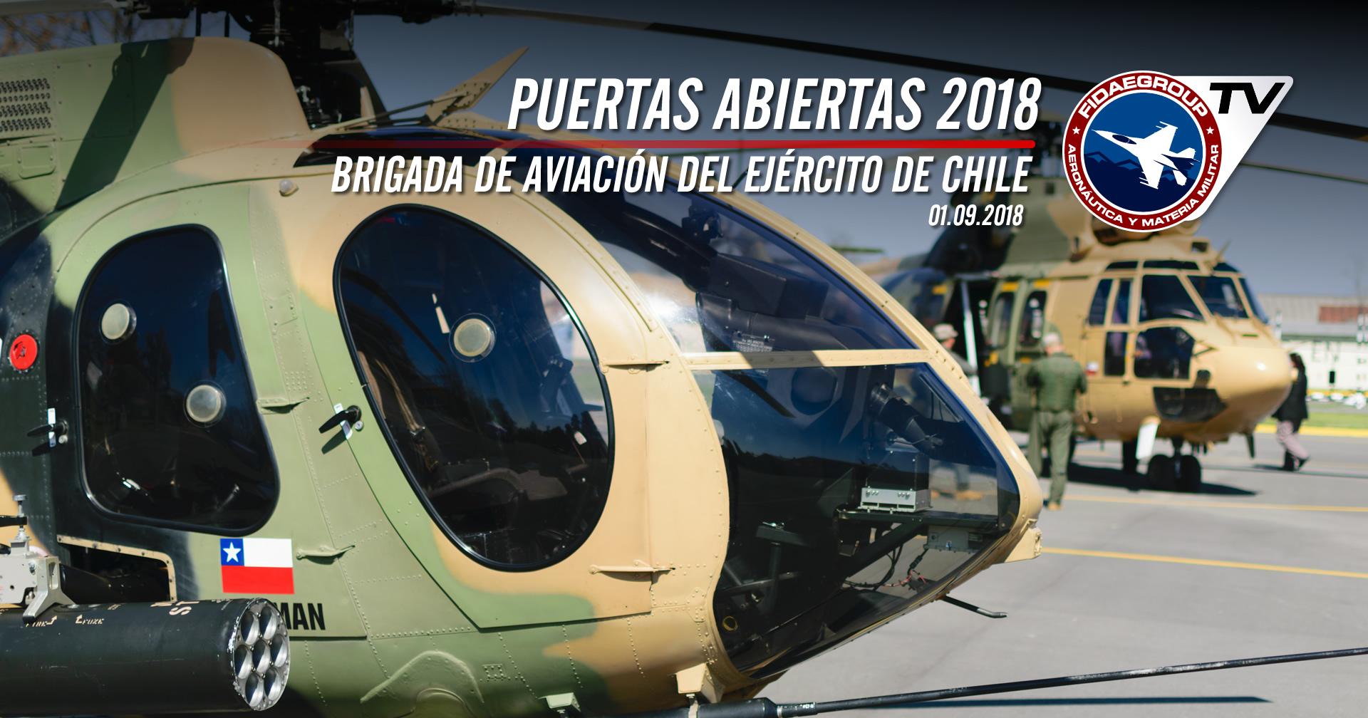 Puertas abiertas 2018 Brigada de Aviación del Ejército de Chile