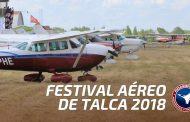 Festival Aéreo Talca 2018 (10 y 11 de noviembre)